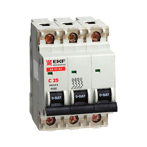 Автоматические выключатели, выключатели автоматические пуска двигателя