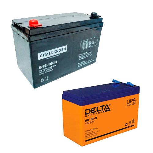 Аккумуляторы Challenger и DELTA battery