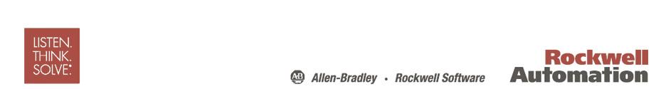 Автоматизированные системы Allen-Bradley, Rockwell Automation, Rockwell Software
