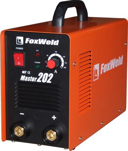 Сварочный инвертор FoxWeld Master 202 предназначен для ручной дуговой сварки штучным электродом.