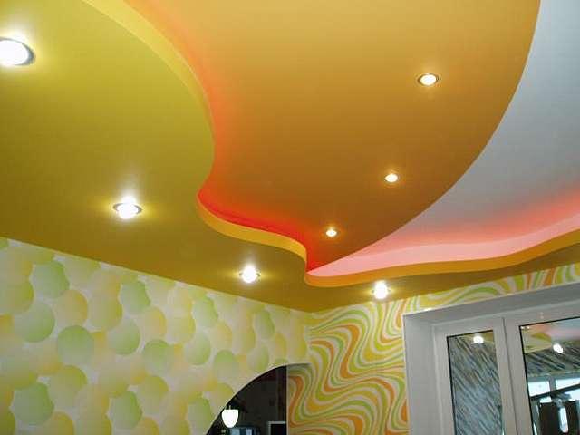 Для многоуровневого потолка необходимы чёткие чертежи.