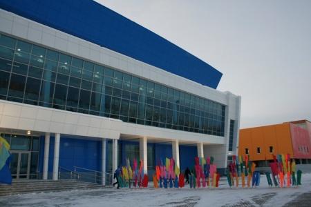 Компания «Белый свет-2000» выполнила проект по освещению объекта «Ледовый Дворец» (г. Сургут)
