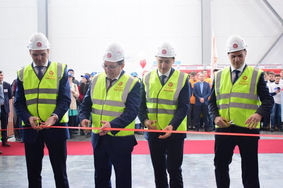 Открытие нового производственного здания АО «НПО «Каскад»